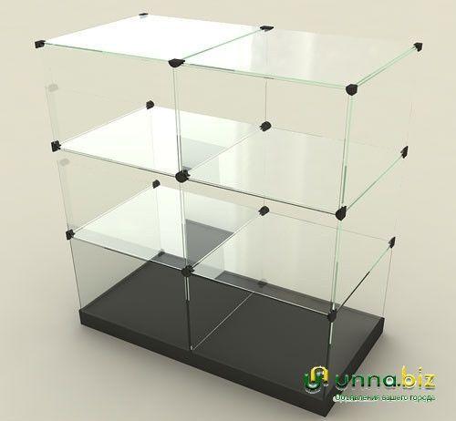 Витрина куб фурнитура